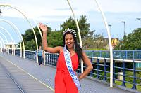 After being crowned Miss England at the Floral Hall last night Elizabeth Grant from Preston went for a walkabout in Southport this morning posing for pictures in various locations.    The 6ft student aged 20 will now go on to compete in this year�s Miss World contest with a chance of winning...