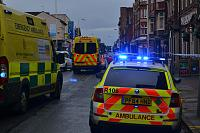 The emergency services were called to the Coronation Pub and Subway in King St this afternoon after two people were allegedly stabbed .They were taken to hospital by paramedics.There condition is not known at the moment.    Police have cordoned off both establishments while an investigation is...