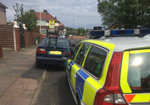 Officers from the Merseyside Police Roads Policing Unit have caught another uninsured driver in Southport.    This one was captured yesterday afternoon and reported.
