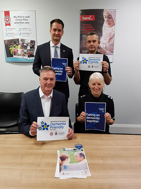 Lancashire Constabulary is uniting against dementia during Dementia Awareness Week after being recognised for its commitment to supporting people living with dementia. It has pledged to raise awareness across the force to ensure that staff and officers have a greater understanding of dementia and...