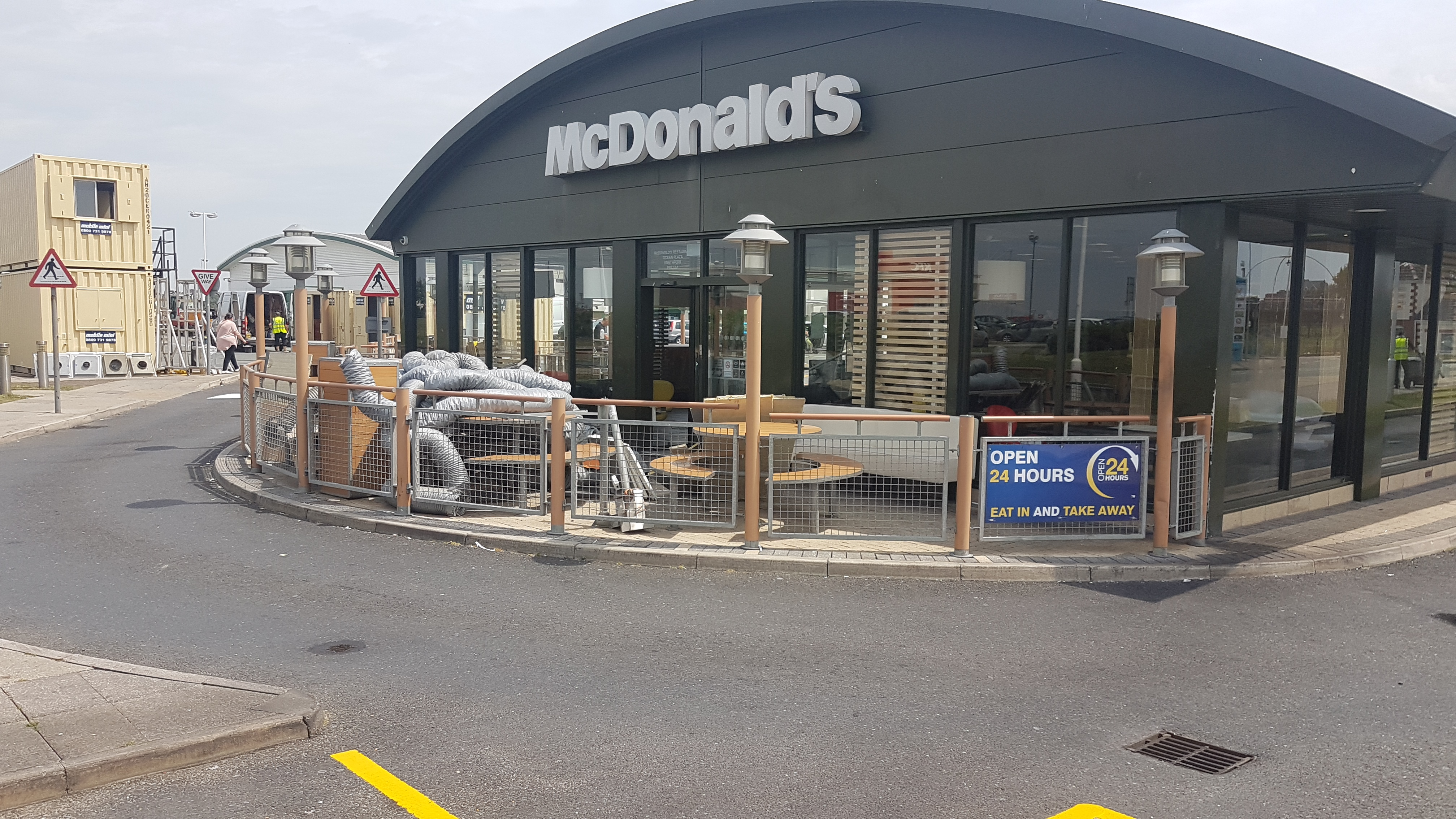 Burger fans will have to go elsewhere for the next few weeks as the Ocean Plaza McDonalds gets a refurbishment.    Contractors are busy ripping out all the old fittings ready for the new ones to be installed.    It's set to reopen on July 19th with the addition of a number of new digital features,...