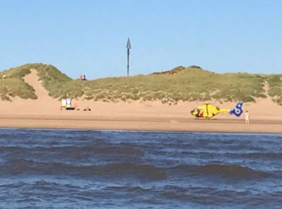 Southport Lifeboat and Quads called out to two jobs; a missing child, later found by HM Coastguard, and a woman in distress in the water.    Upon arrival at Lifeboat Road, Formby the quads liased with the RNLI lifeguards on duty. The woman had been helped from the water by the public and family...