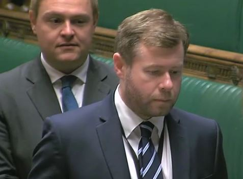 On Thursday Damien Moore was delighted to be sworn in as the Member of Parliament for Southport.    Damien said